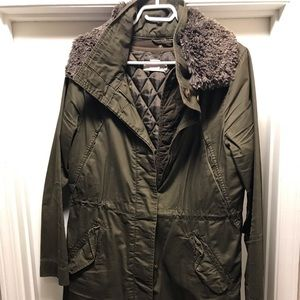 H&M military green fall/winter jacket